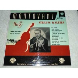 Mantovani - Mantovani Plays Strauss Waltzes Vinyl Record For Sale