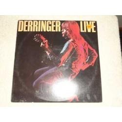 Rick Derringer - Live Vinyl LP Record For Sale