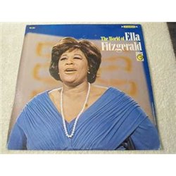 Ella Fitzgerald - The World Of Ella Fitzgerald Vinyl LP Record For Sale