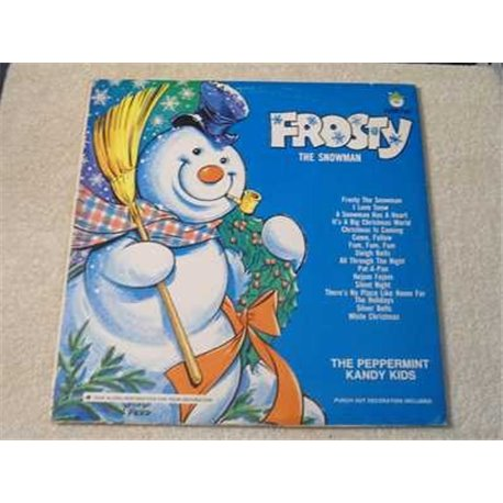 Frosty The Snowman - The Caroleer Singers Vinyl LP Record For Sale