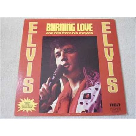 Elvis - Burning Love And Hits Vol 2 Vinyl LP Record For Sale
