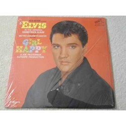Elvis - Girl Happy Soundtrack Vinyl LP Record For Sale
