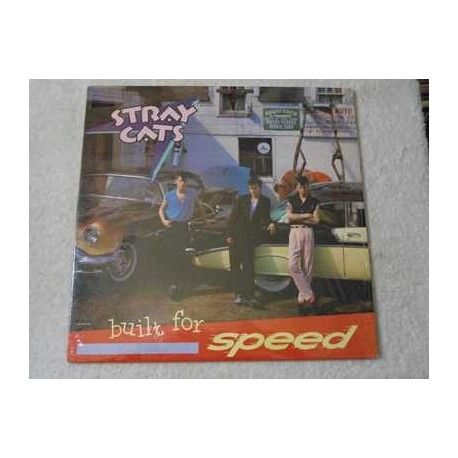 Stray Cats - Built For Speed Vinyl LP Record For Sale