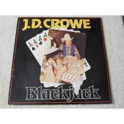 J.D. Crowe - Blackjack Vinyl LP Record For Sale