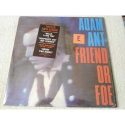 Adam Ant - Friend Or Foe Vinyl LP Record For Sale