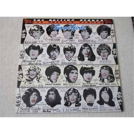 Rolling Stones - Some Girls Vinyl LP Record For Sale