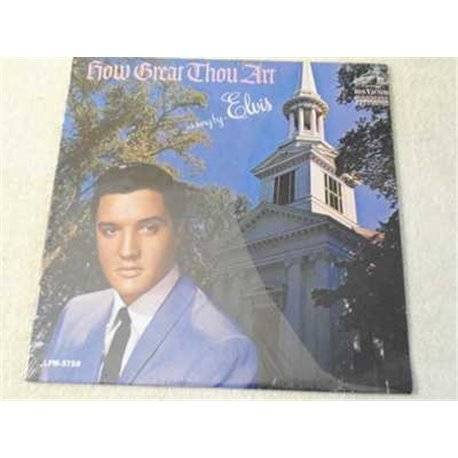 Elvis - How Great Thou Art Mono Dynagroove LP For Sale