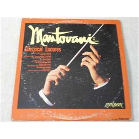 Mantovani - Classical Encores Vinyl LP Record For Sale