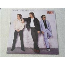Huey Lewis - Fore ! Vinyl LP Record For Sale