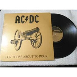 AC/DC - For Those About To Rock Vinyl LP Record For Sale