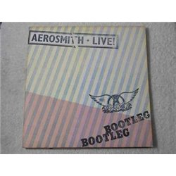 Aerosmith - Live Bootleg Vinyl LP Record For Sale
