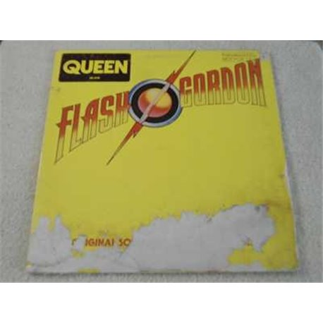 Queen - Flash Gordon Soundtrack PROMO Vinyl LP Record For Sale