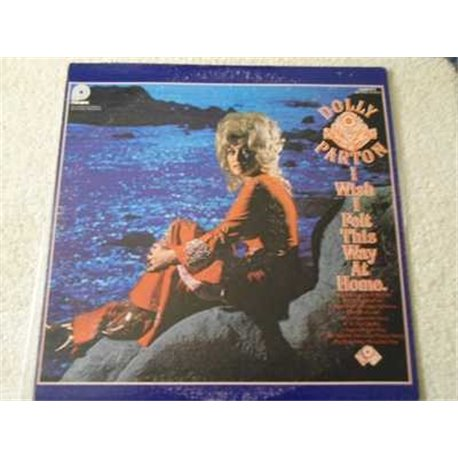 Dolly Parton - I Wish I Felt This Way At Home Vinyl LP Record For Sale