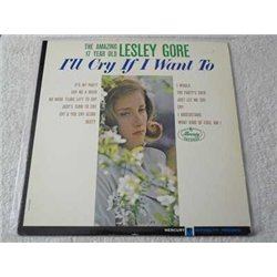 Lesley Gore - I'll Cry If I Want To Vinyl LP Record For Sale