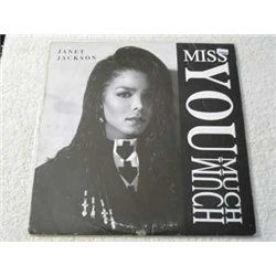 """Janet Jackson - Miss You Much Vinyl 12"""" Single Record For Sale"""