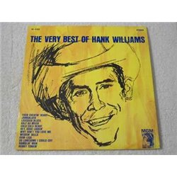 Hank Williams - The Very Best Of Hank Williams Vinyl LP Record For Sale