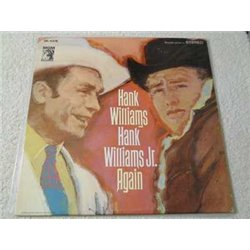 Hank Williams Sr And Hank Williams Jr - Again Vinyl LP Record For Sale