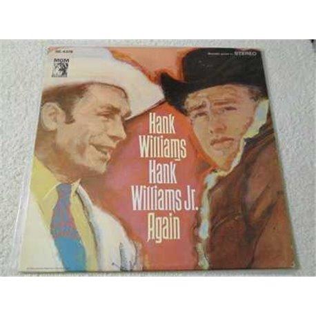Hank Williams Sr And Hank Williams Jr - Again Vinyl LP Record For Sale