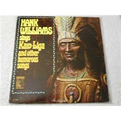 Hank Williams - Sings Kaw-Liga Vinyl LP Record For Sale