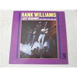 Hank Williams - Lost Highway Vinyl LP Record For Sale