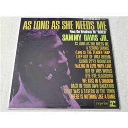 Sammy Davis Jr - As Long As She Needs Me Vinyl LP Record For Sale