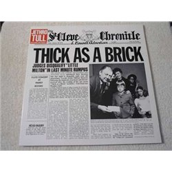 Jethro Tull - Thick As A Brick Vinyl LP Record For Sale