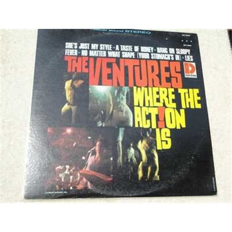 The Ventures - Where The Action Is Vinyl LP Record For Sale