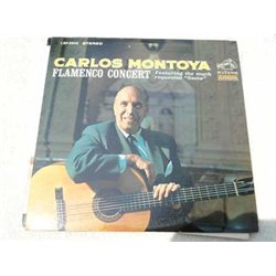 Carlos Montoya - Flamenco Concert Vinyl LP Record For Sale