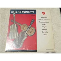 Carlos Montoya - Guitarist Plays Vinyl LP Record For Sale