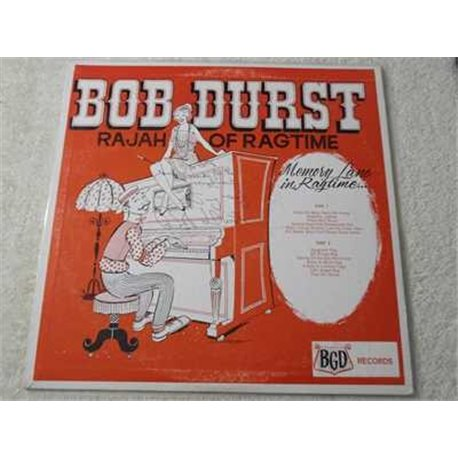 Bob Durst - Rajah Of Ragtime Vinyl LP Record For Sale - SIGNED