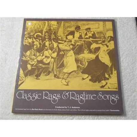 Classic Rags & Ragtime Songs - Various Artists Vinyl LP Record For Sale