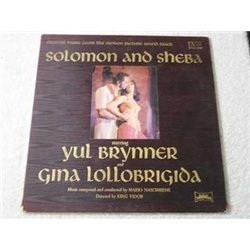 Solomon And Sheba - Soundtrack Vinyl LP Record For Sale