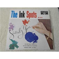The Ink Spots - Sincerely Yours Vinyl LP Record For Sale