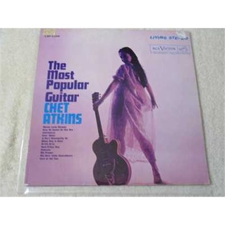 Chet Atkins - The Most Popular Guitar Vinyl LP Record For Sale