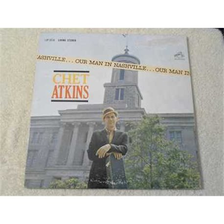 Chet Atkins - Our Man In Nashville Vinyl LP Record For Sale