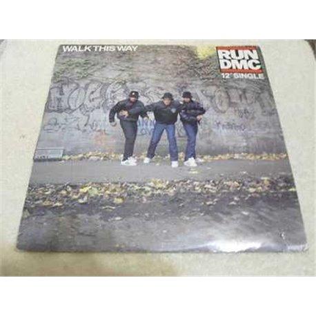 "Run DMC - Walk This Way 12"" Single Vinyl LP Record For Sale"