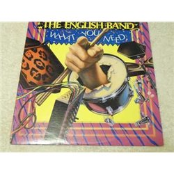 The English Band - What You Need Vinyl LP Record For Sale