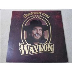 Waylon Jennings - Greatest Hits Vinyl LP Record For Sale