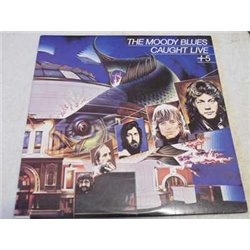 The Moody Blues - Caught Live +5 Vinyl LP Record For Sale