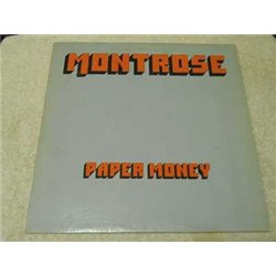 Montrose - Paper Money Vinyl LP Record For Sale