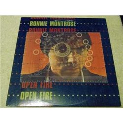 Ronnie Montrose - Open Fire Vinyl LP Record For Sale