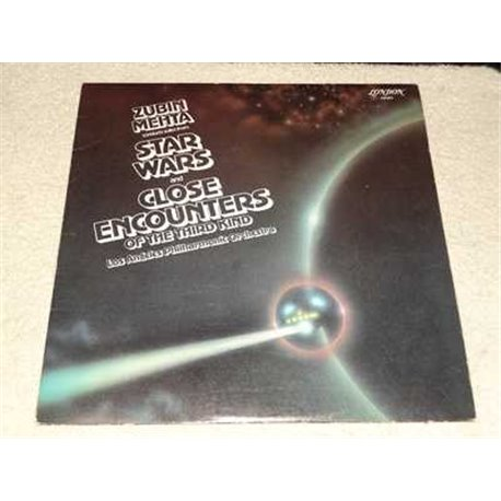 Star Wars Theme Suite & Close Encounters Theme Vinyl LP Record For Sale