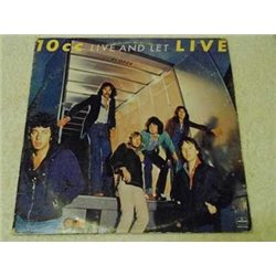 10cc - Live And Let LIVE Vinyl LP Record For Sale