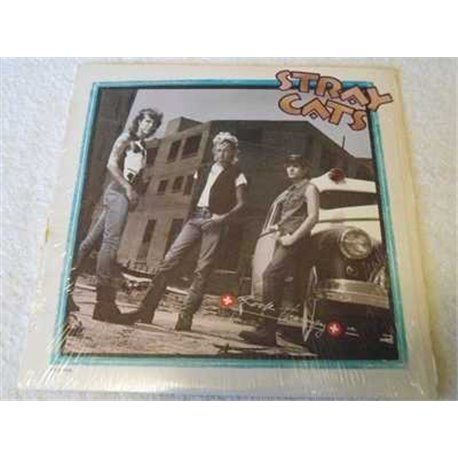 Stray Cats - Rock Therapy Vinyl LP Record For Sale