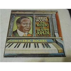 Scott Joplin - Great Scott - The Music Of Scott Joplin Vinyl LP Record For Sale