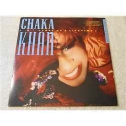 Chaka Khan - Love Of A Lifetime PROMO SINGLE Vinyl Record For Sale