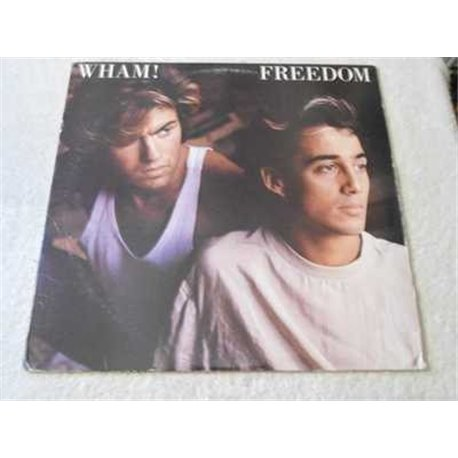 "Wham - Freedom 12"" Single PROMO Vinyl Record For Sale"