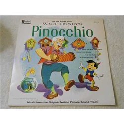 Walt Disneys Pinocchio - Motion Picture Soundtrack Vinyl LP Record For Sale