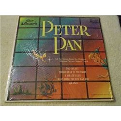 Walt Disneys Peter Pan Vinyl LP Record For Sale
