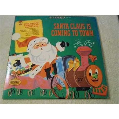 Childrens Christmas Favorites - Santa Clause Is Coming To Town Vinyl LP Record For Sale